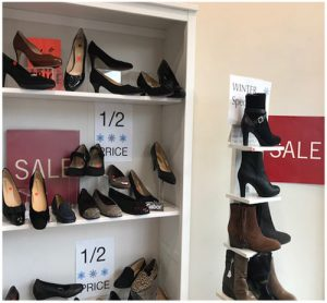 Shoe Shop Winter Sale