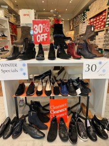 Shoe Shop Winter Sale